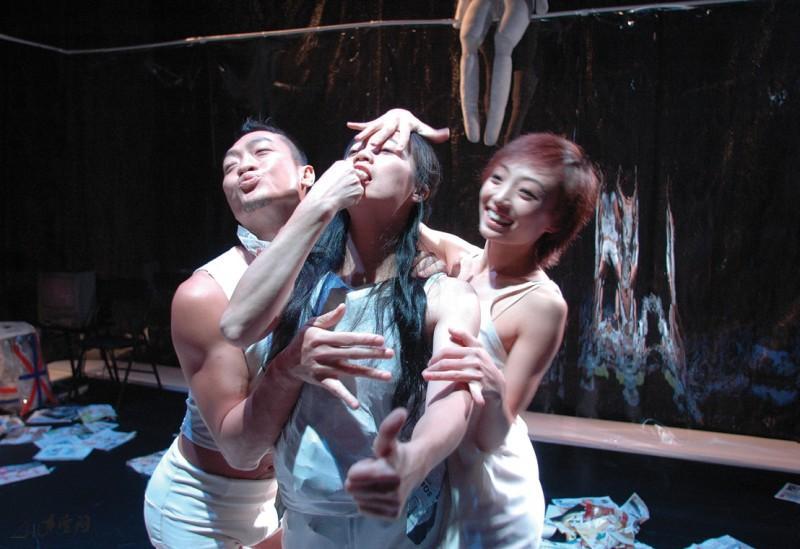 《冇關係》2005年重演,黃茹的角色由韓梅補上。 攝影 Jesse Clockwork