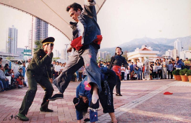 《鼓舞同歡在公園》於荃灣公園之主舞台演出。