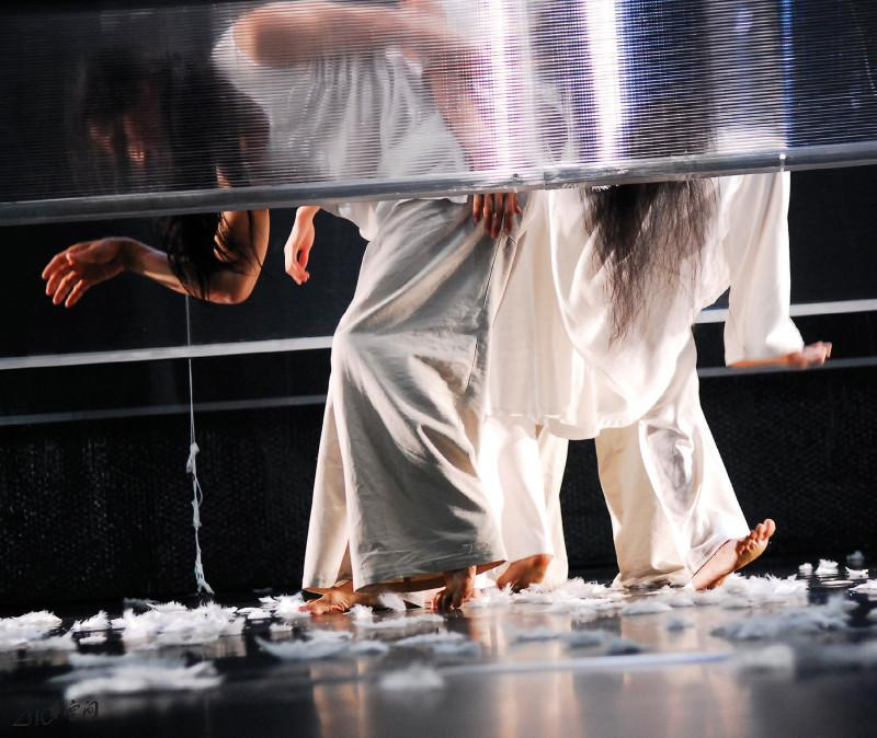 《呼吸II ― 現象》2007之演出。 攝影 Jesse Clockwork
