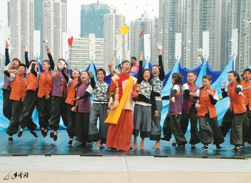 2005年《香港船與島的故事》於青衣島的演出。