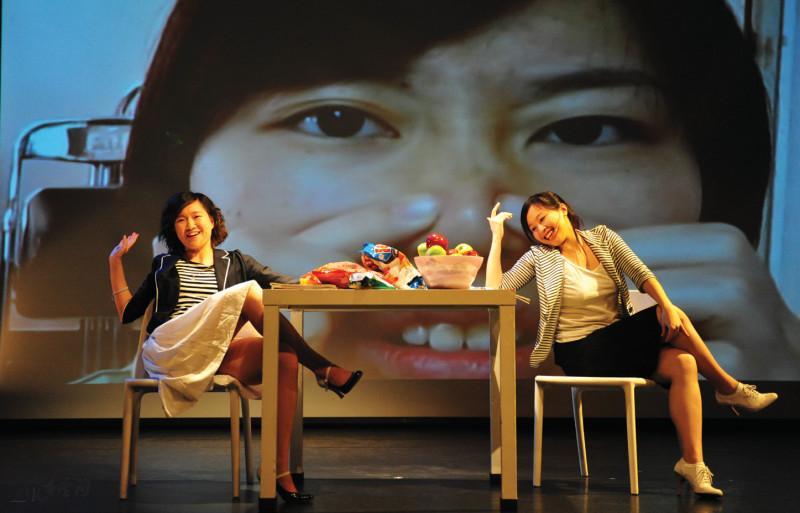 小丸子組合所編排的《女人三十八》攝影 Yvonne Chan
