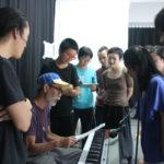 舞蹈與多媒體即興研習週 第一天
